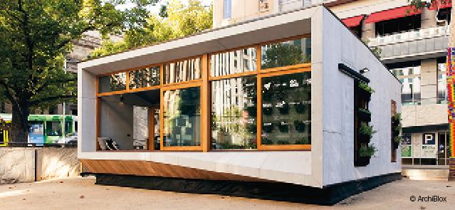 Home of the Future - next-gen prefabs