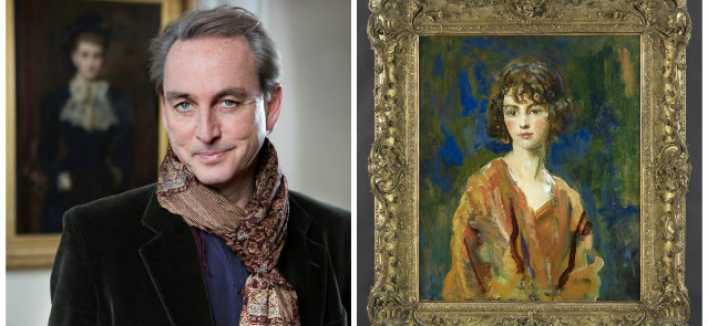 Philip Mould and Lois Sturt