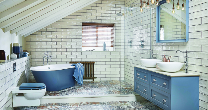Roseberry Collection of painted timber furniture from Utopia Bathrooms