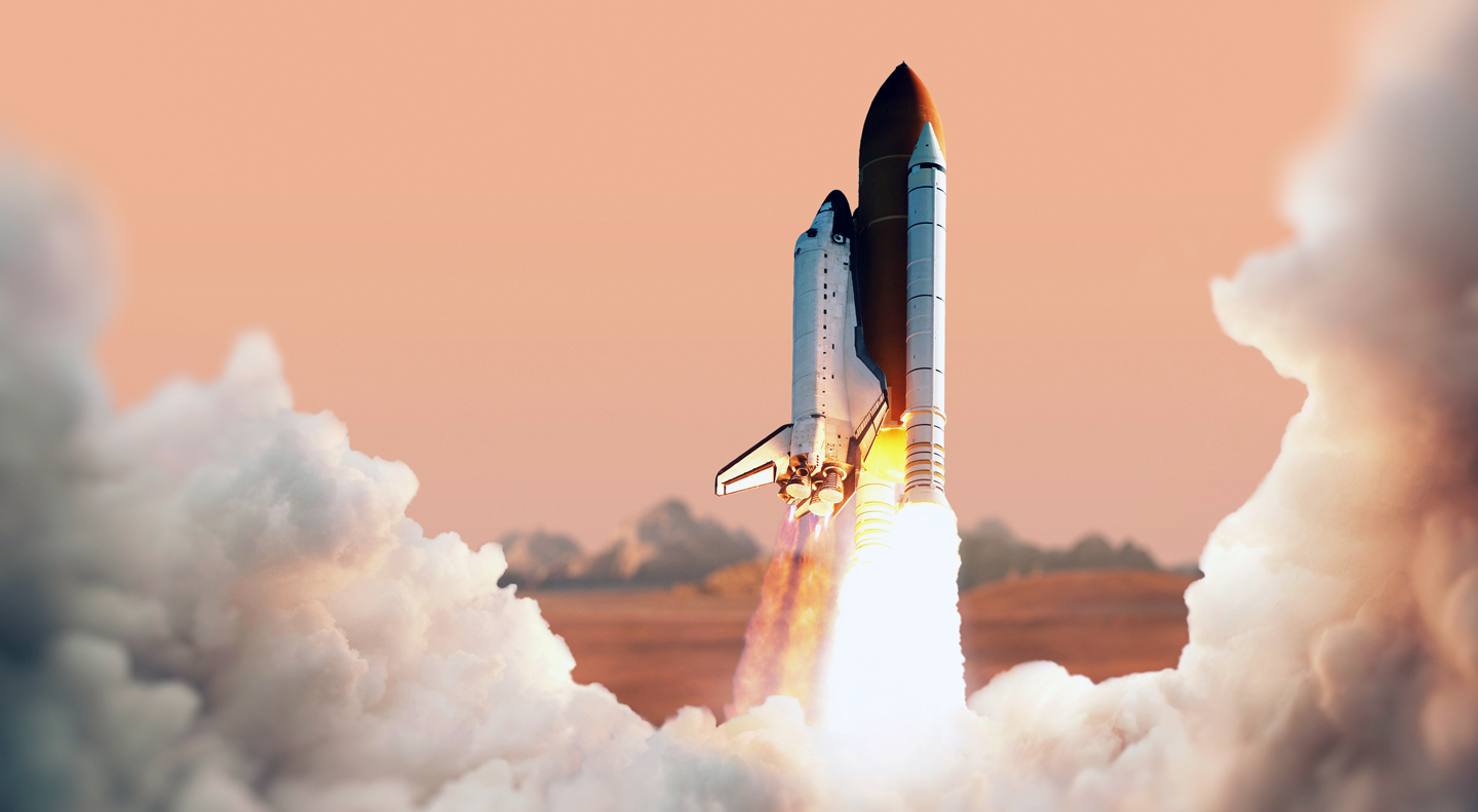 Serial entrepreneurs rocket - Eat. Sleep. Launch. Repeat.