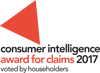 Consumer Intelligence Award for Claims 2017