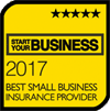 Winner Best Small Business Insurer 2017