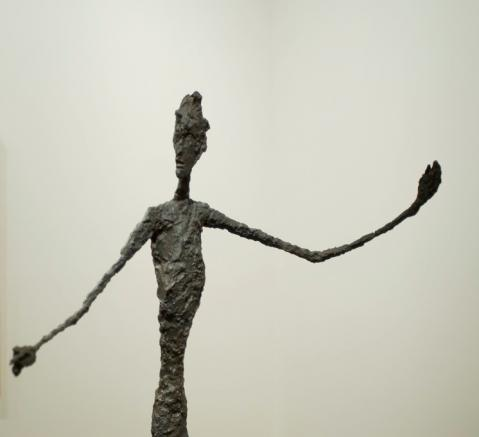 L'Homme Au Doigt sculpture by Alberto Giacometti