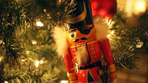 toy soldier antique christmas decoration