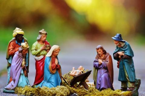 Nativity scene Christmas decoration