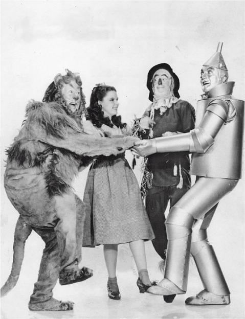The Wizard of Oz character photograph