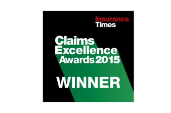 Insurance Times Claims Excellence Awards 2015 winner