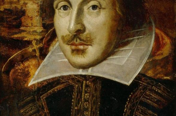 Forged portrait of William Shakespeare